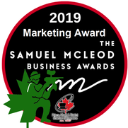 We are a 2019 finalist in the Prince Albert and District Chamber of Commerce Samuel McLeod Business Awards in MarketingPicture